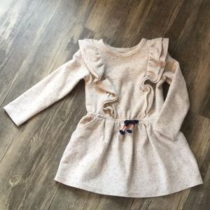 Girls Ruffled Dress (Size 4T)